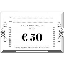 BUONO REGALO € 50+ SCONTO 30%