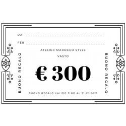 BUONO REGALO € 300 + SCONTO...
